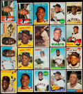 Baseball Cards:Lots, 1954-70 Topps Willie Mays Collection (20).. ...