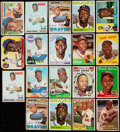 Baseball Cards:Lots, 1955-70 Topps Hank Aaron Collection (19).. ...