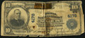 National Bank Notes, Saint Louis, MO - $10 1902 Plain Back Fr. 627 The NB of CommerceCh. # 4178. ...
