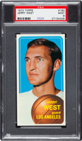 Basketball Cards:Singles (1970-1979), 1970 Topps Jerry West #160 PSA Mint 9....