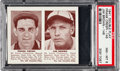 Baseball Cards:Singles (1940-1949), 1941 Double Play Crespi//Brown #145/146 PSA NM-MT 8 - NoneHigher....