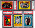 "Non-Sport Cards:Sets, 1966 Topps ""Green Hornet"" Stickers Complete Set (44). ..."