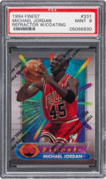 Basketball Cards:Singles (1980-Now), 1994 Finest Michael Jordan (Refractor with Coating) #331 PSA Mint 9....