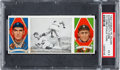 "Baseball Cards:Singles (Pre-1930), 1912 T202 Hassan ""Ty Cobb Steals Third"" Cobb/Moriarity PSA EX 5...."