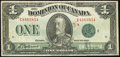 Canadian Currency, DC-25j $1 1923. ...