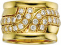 Estate Jewelry:Rings, Diamond, Gold Ring, Cartier. The ring features full-cut diamondsweighing a total of approximately 1.75 carats, set in 18k...(Total: 1 Item)