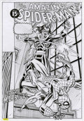 Original Comic Art:Covers, Giorgio Comolo - The Amazing Spider-Man #101 Cover RecreationOriginal Art (undated)....