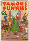 Platinum Age (1897-1937):Miscellaneous, Famous Funnies #17 (Eastern Color, 1935) Condition: VG-....