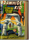 Silver Age (1956-1969):Western, Rawhide Kid #68-82 Partial Issues Bound Volume (Marvel, 1968-70)....