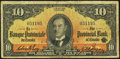 Canadian Currency, Montreal, PQ- La Banque Provinciale Du Canada $10 Sep. 1, 1936 Ch. # 615-18-06. ...