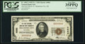 National Bank Notes, Oklahoma City, OK - $20 1929 Ty. 1 The First NB & TC Ch. # 4862. ...