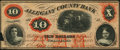Obsoletes By State:Maryland, Cumberland, MD- Allegany County Bank $10 Feb. 13, 1861. ...