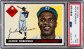 Baseball Cards:Singles (1950-1959), 1955 Topps Jackie Robinson #50 PSA EX-MT 6....