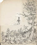 Other, Palmer Cox (Canadian, 1840-1924). Group of fifteen Brownie Book story illustrations. Pen and ink on board. 14 x 10.75 in... (Total: 16 Items)