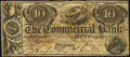 Canadian Currency, Canada Kingston, UC- Commercial Bank Counterfeit $10=50 ShillingsJan. 2, 1854 Ch. # 190-22-04C.. ...