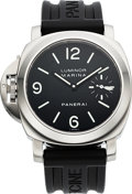 Timepieces:Wristwatch, Panerai, PAM115 Luminor Marina Destro Officine Firenze, Ltd Ed No G001/200 with fitted box, guarantee and booklet. ...