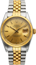 Timepieces, Rolex Ref. 160133 Two Tone Oyster Perpetual Datejust. ...