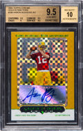 Football Cards:Singles (1970-Now), 2005 Topps Chrome Aaron Rodgers #190 Gold X-Fractor Rookie...