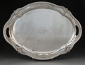 Silver & Vertu:Hollowware, A Large Black, Starr & Frost Exclusive Design Silver Serving Tray, New York, New York, circa 1910. Marks: BLAC...
