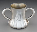 Silver Holloware, American:Loving Cup, A Tiffany & Co. Silver Two-Handled Loving Cup, New York City, circa 1892-1902. Marks: TIFFANY & CO, 8573 MAKERS 3981, STER...