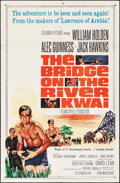 """Movie Posters:War, The Bridge on the River Kwai (Columbia, R-1963). One Sheet (27"""" X41""""). War.. ..."""