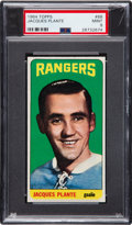 Hockey Cards:Singles (1960-1969), 1964 Topps Jacques Plante #68 PSA Mint 9 - Pop Three, None Higher. ...