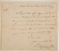 Autographs:U.S. Presidents, George Washington Letter Signed as Commander-in Chief of the Continental Army....