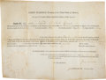 Autographs:U.S. Presidents, James Madison Land Grant Signed...