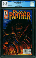 Modern Age (1980-Present):Superhero, Black Panther #2 (Marvel, 1998) CGC NM+ 9.6 WHITE pages.