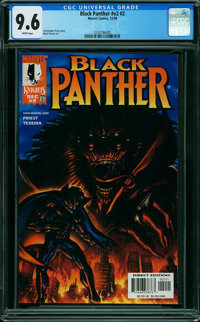 Black Panther #2 (Marvel, 1998) CGC NM+ 9.6 WHITE pages