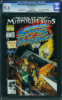 Ghost Rider/Blaze: Spirits of Vengeance #1 (Marvel, 1992) CGC NM+ 9.6 WHITE pages