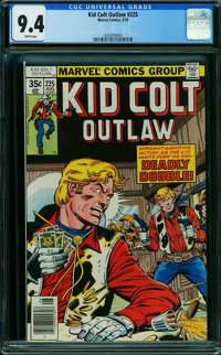 Kid Colt Outlaw #225 (Atlas/Marvel, 1978) CGC NM 9.4 WHITE pages