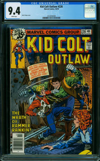 Kid Colt Outlaw #226 (Atlas/Marvel, 1978) CGC NM 9.4 WHITE pages