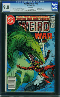 Weird War Tales #103 (DC, 1981) CGC NM/MT 9.8 WHITE pages