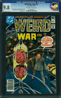 Weird War Tales #81 - From The CHARLESTON COLLECTION (DC, 1980) CGC NM/MT 9.8 Off-white to white pages