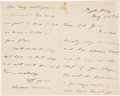Autographs:U.S. Presidents, Theodore Roosevelt Autograph Letter Signed....