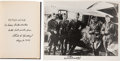 Autographs:Military Figures, Charles A. Lindbergh Signed Copy of Of Flight and Life....