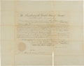 Autographs:U.S. Presidents, Abraham Lincoln Political Appointment Signed...