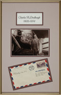 Autographs:Military Figures, Charles Lindbergh Flight Cover Signed ...