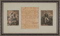 Autographs:Statesmen, Stephen Decatur, Sr. Autograph Letter Signed ...