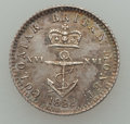 """British West Indies, British West Indies: British Colony - George IV. Trio of""""Anchor Money"""" Coins 1822,... (Total: 3 coins)"""
