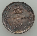 """British West Indies, British West Indies: British Colony - George IV. Trio of""""Anchor Money"""" Coins,... (Total: 3 coins)"""