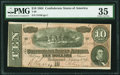Confederate Notes:1864 Issues, T68 $10 1864 PF-18 Cr. 545C.. ...
