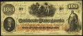 Confederate Notes, T41 $100 1862 PF-26.. ...