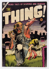 The Thing! #16 (Charlton, 1954) Condition: FN+