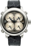 Timepieces:Wristwatch, Jacob & Co, H24-Icon, 5 Timezone Automatic Wristwatch, Circa 2015. ...