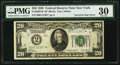 Error Notes:Inverted Third Printings, Fr. 2050-B* $20 1928 Federal Reserve Note. PMG Very Fine 30.. ...