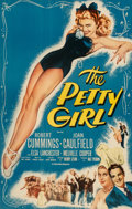 """Other, The Petty Girl (Columbia, R-1955). One Sheet (27"""" X 41"""").. Joan Caulfield got the """"Petty Girl"""" treatment with this gorgeous ..."""