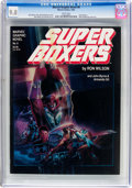 Magazines:Science-Fiction, Marvel Graphic Novel #8 Super Boxers (Marvel, 1983) CGC NM/MT 9.8White pages....