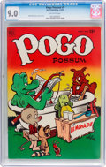 Golden Age (1938-1955):Humor, Pogo Possum #9 (Dell, 1952) CGC VF/NM 9.0 Off-white pages....